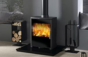 Vega 750 Glass Stove