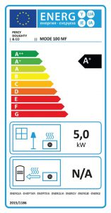 Mode 100 Stove Energy Label