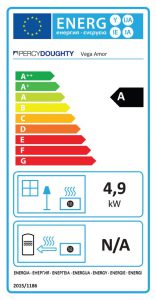 Vega Amor Stove Energy Rating