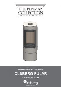 Olsberg Pular Stove Installation Instructions