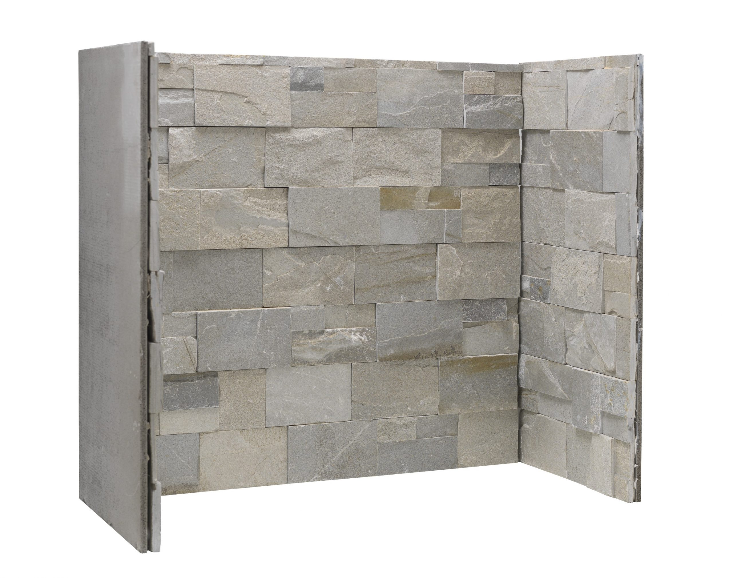 Staggered Oyster Slate Block Chamber